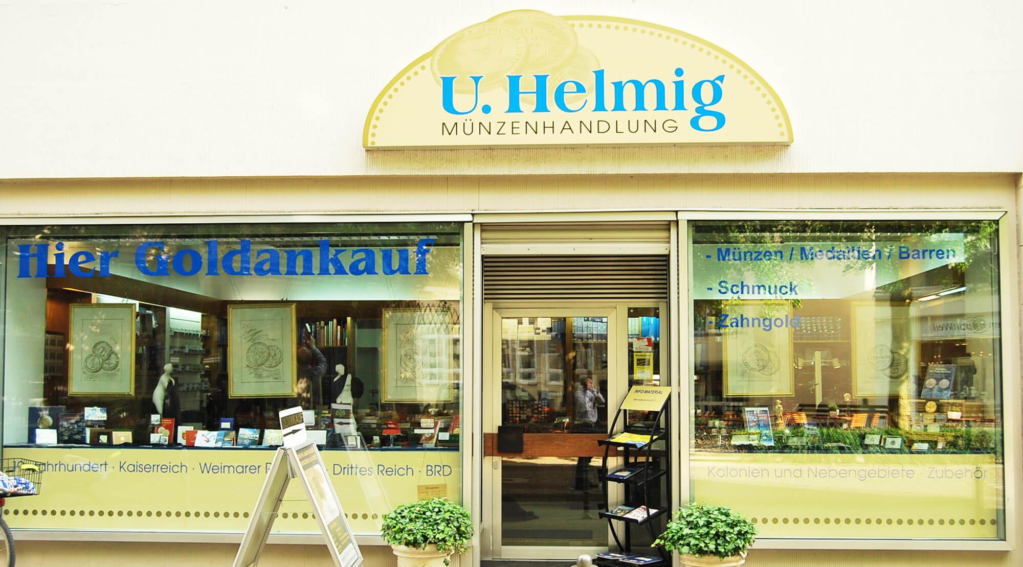 Kaufen Münzenhandlung Udo Helmig