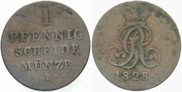 Km #320 schön 1 Pfennig Münze Aus Hessen-darmstadt Von 1819